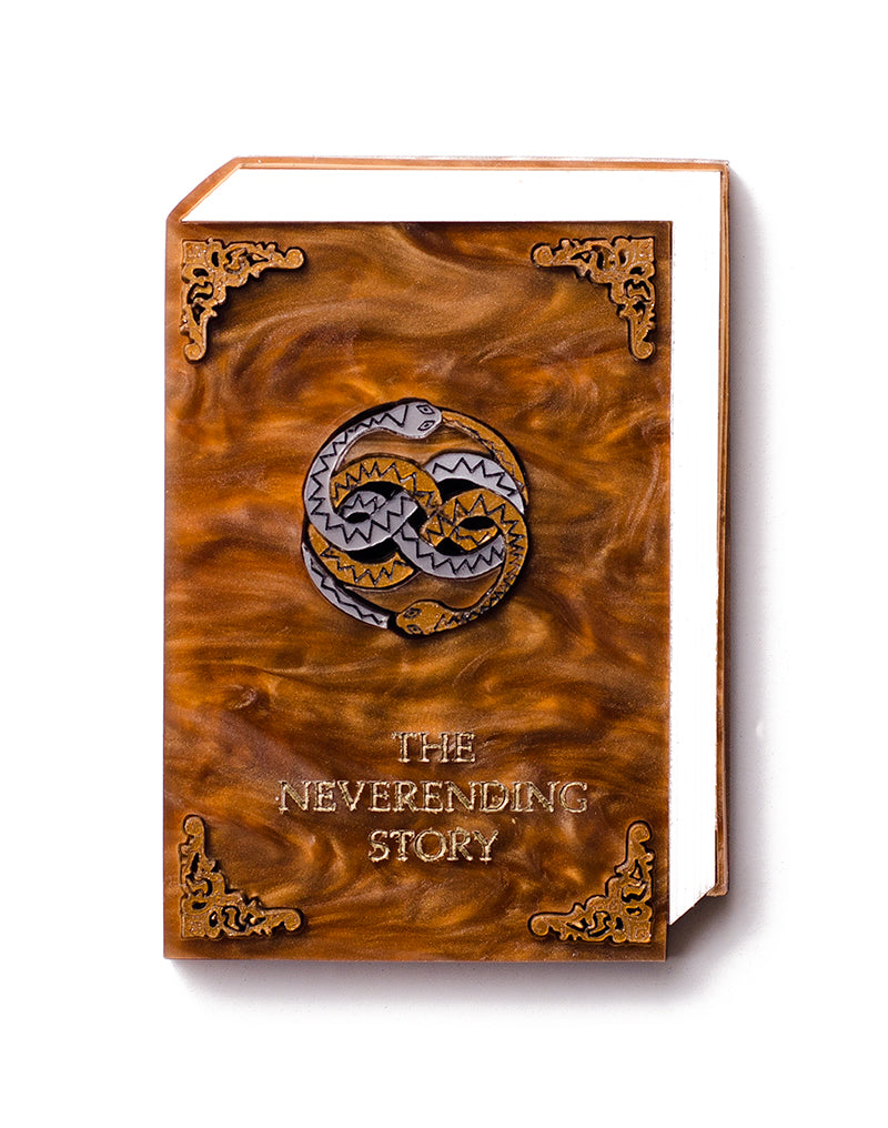 The Neverending Story Acrylic Brooch