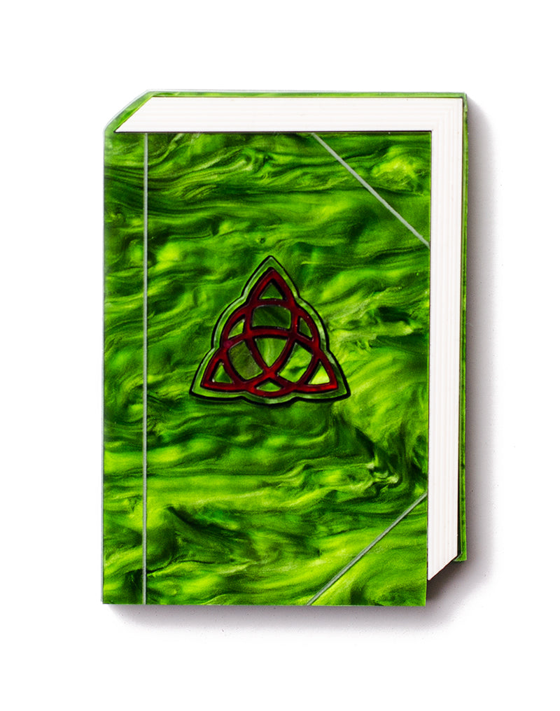 Book of Shadows Brooch Acrylic Spell Book Brooch