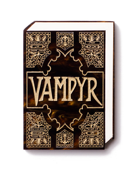Grimoire - Vampyr Book Brooch