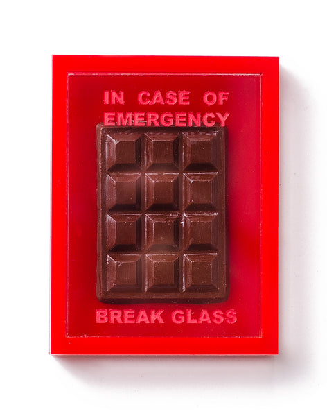 Emergency Chocolate Box Brooch