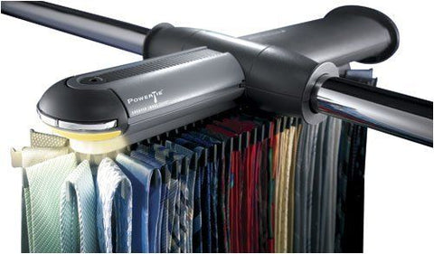 Sharper Image PowerTie Motorized Tie Rack (SI708GRY) by Sharper Image,