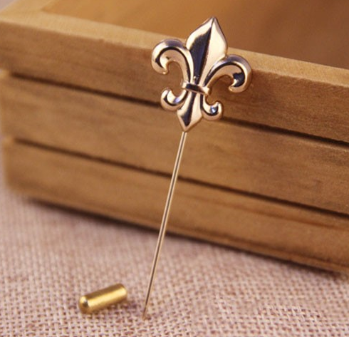 Gold Fleur De Lis Lapel Pin   The Gentleman Shoppe | Fashion Accessories  For ...
