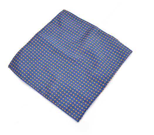 e43e1702c8a4a Blue & Gold Reversible Pocket Square - The Gentleman Shoppe   Fashion  Accessories for the Modern ...