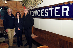 Towcester Railway Station Sign