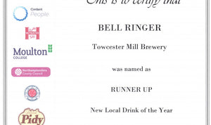 Bell Ringer – Best new beer in Northamptonshire!