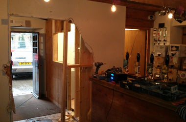 Bar Extension finally started!