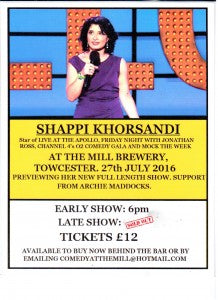 Shappi Khorsandi Ticketsv