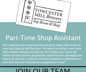 Part-Time Shop Assistant