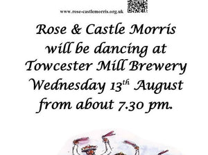 Wed 13th August – Rose & Castle Morris