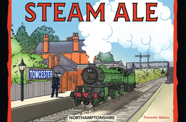 Brand new Steam Ale arrives at the Mill!