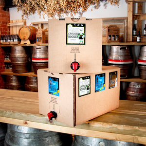 5 Litre Draught Beer Box - approx 8.5 pints