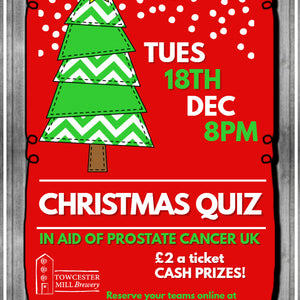 Tue 18 Dec - Charity Christmas Quiz
