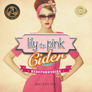 Flagon of Lily the Pink Cider - 4 pints