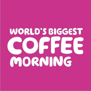 Fri 25 Sep - World's Biggest Coffee Morning