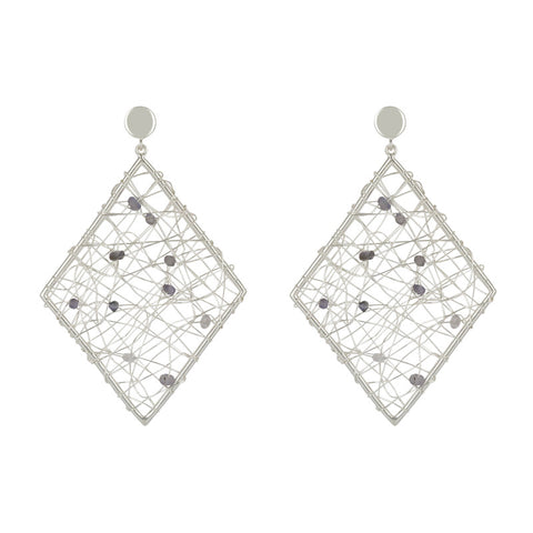 Ravish Diamond shaped Earrings