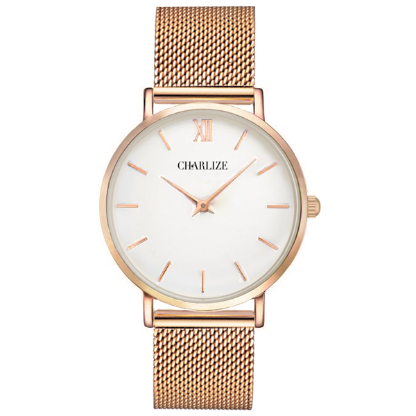 gold klein s watches watch calvin rose women minimal