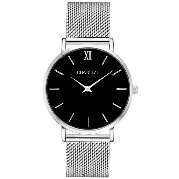 emporio watches dial watch armani s strap white leather black men and classic