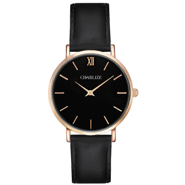 CLASSIC ALL BLACK ROSE GOLD