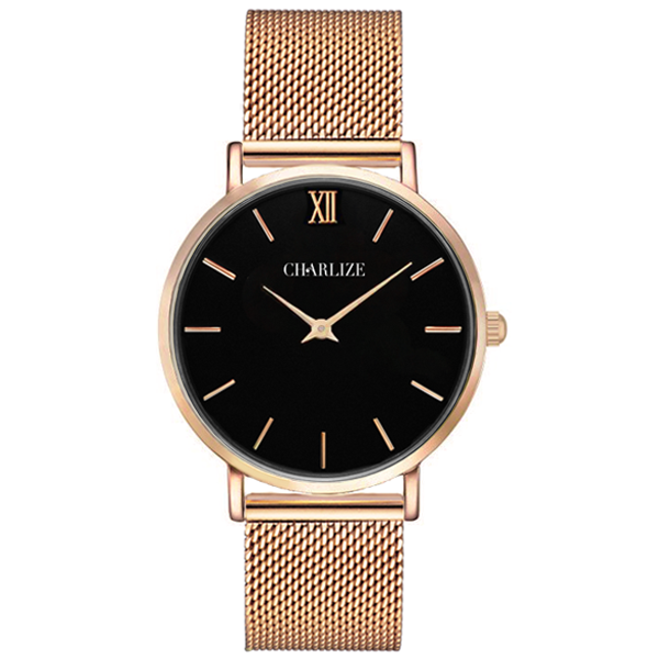 MESH BLACK ROSE GOLD