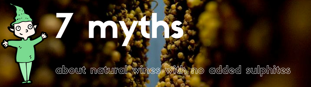 7 myths of natural wines with no added sulphites. Learn more about sulphite free wines