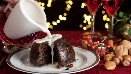 Christmas pudding - recommendations for wine match