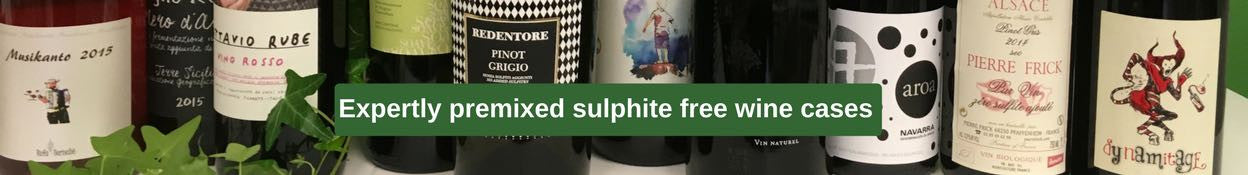 expertly premixed sulphite free wine cases