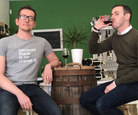 Meet the team: Dimitri and Alexander of Organic Wine Club