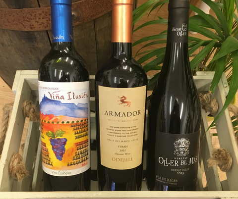 Trio of new wines at Organic Wine Club