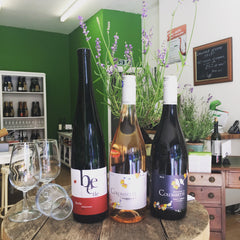 Lower alcohol organic wines from Germany and France