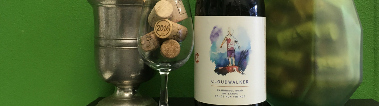Cloudwalker Pinot Noir Syrah from Martinborough, New Zealand - limited edition natural wine