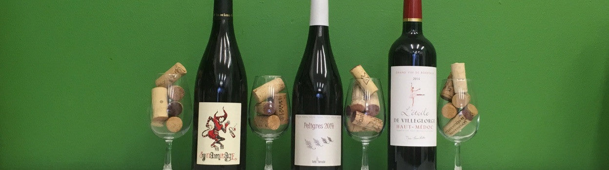 new wines at Organic Wine Club - March 2017
