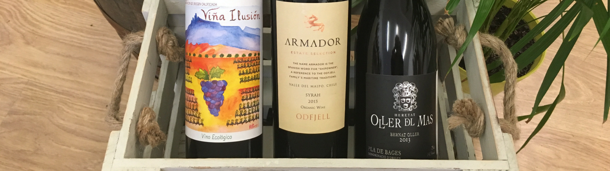 New Wines at Organic Wine Club - January 2017