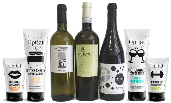 Optiat and Organic Wine Club gift