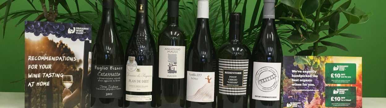 Organic Wine Subscription - Discovery £35