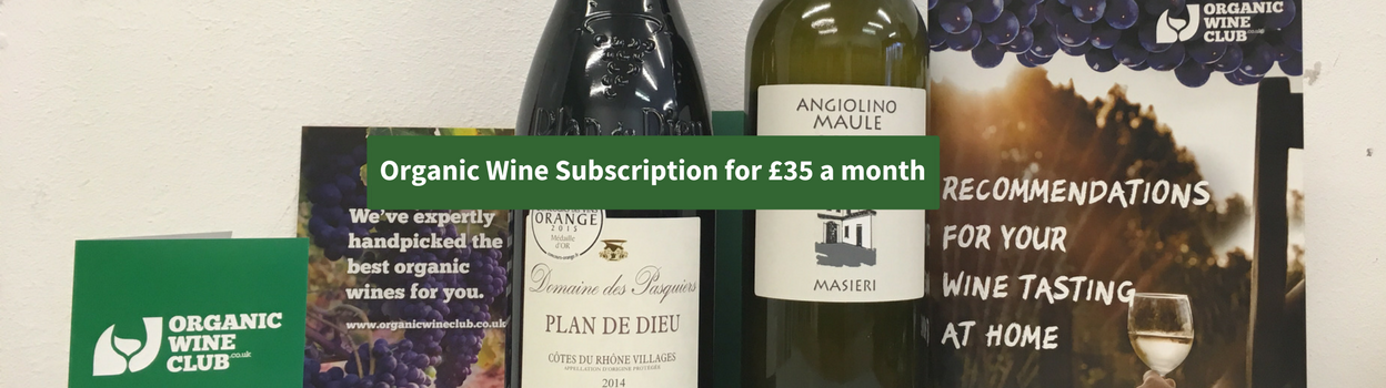 3 months organic wine subscription