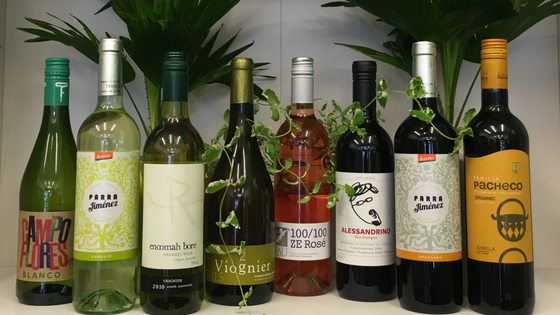 Organic wines under £10 - great selection of affordable and great tasting organic wines