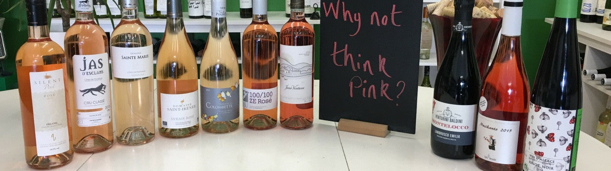 Organic Rose Wine: time to think pink