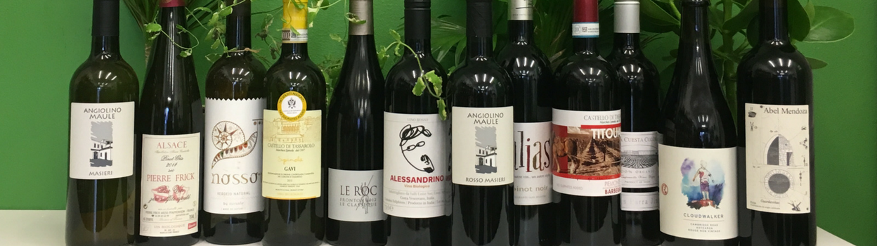 Largest selection of natural wines with no added sulphites at Organic Wine Club