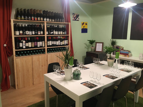 Private Wine Tasting room at Organic Wine Club