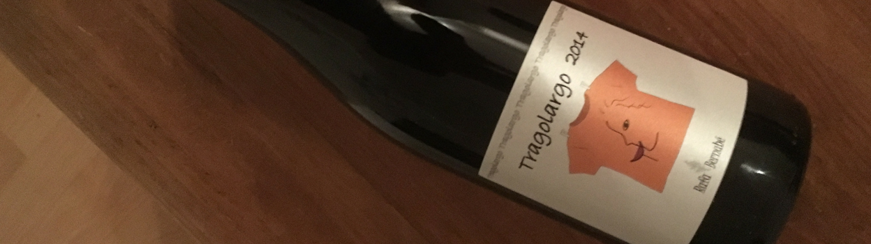 Tragolargo 2014 by Rafa Bernabe from Alicante: our new organic star!