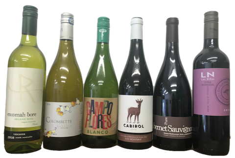 Wine offer: introductory wine deal 20% off organic wines