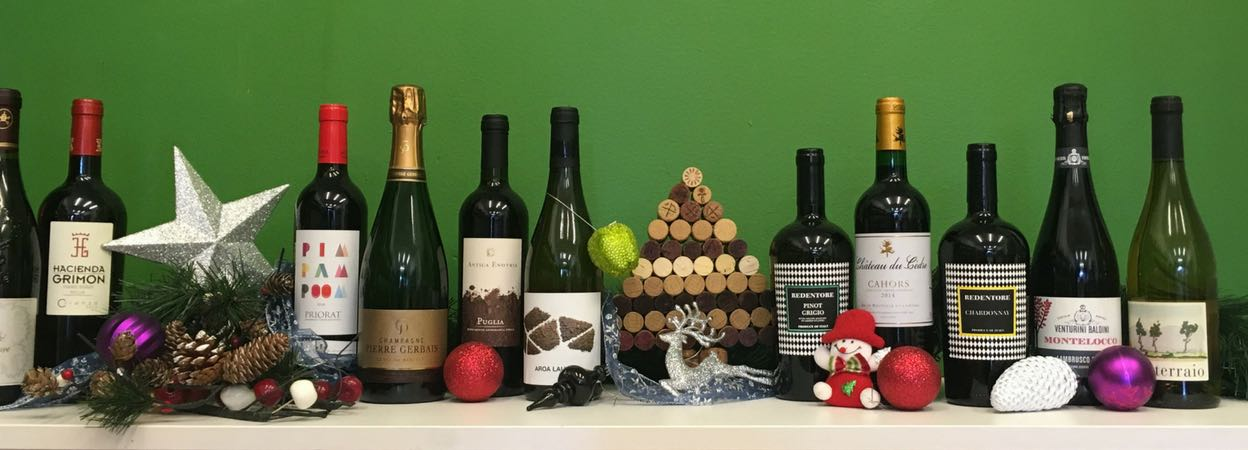 Organic Wine Club Christmas suggestions and wine pairings