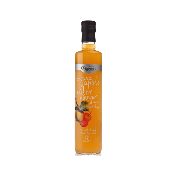 Rayners Organic Apple Cider Vinegar with Mother, UK (500mls)