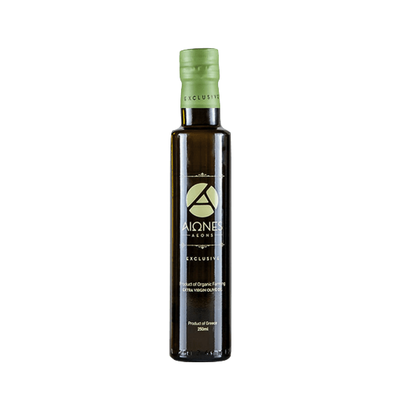 Aeons Organic Extra Virgin Olive Oil, Greece (500mls)
