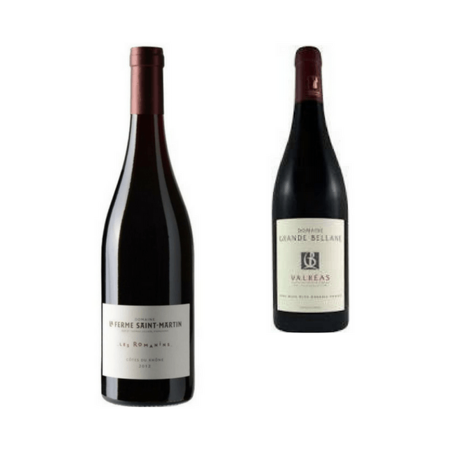 Duo of Organic Red Wines  82a84574deb