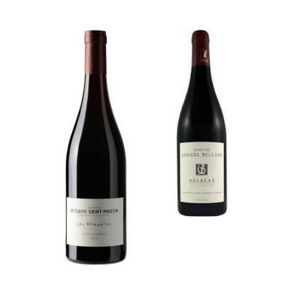 Duo of Organic Red Wines | Classic Wines | Côtes du Rhône