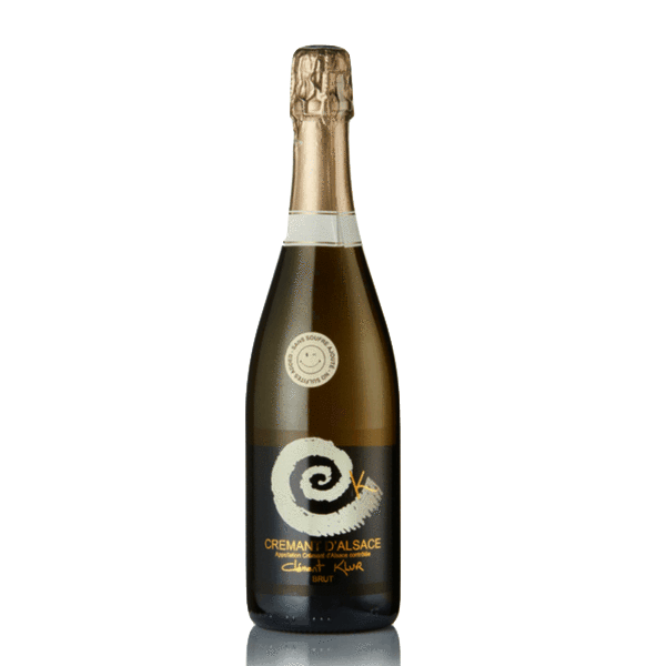 Cremant d'Alsace No Added Sulphites Sparkling, Domaine Klur, France