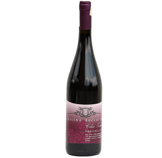 Celso Zero, Dolcetto di Ovada DOC Italy (no added sulphites)