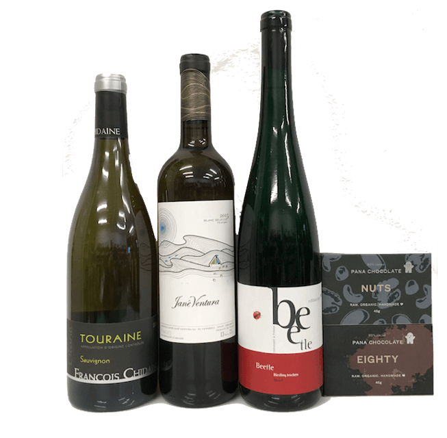 Inquisitive Explorer member wine subscription (white) - Organic Wine Club