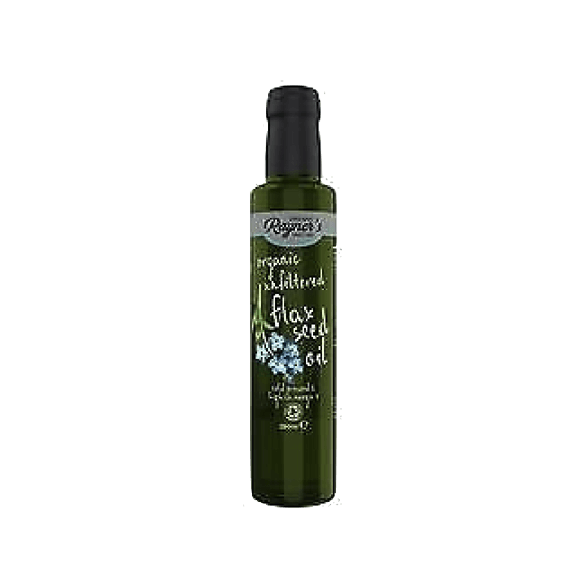 Rayners Organic Cold Pressed Flax Seed Oil, UK (250ml)